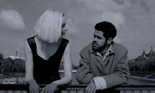 Ангела и Андре на мосту