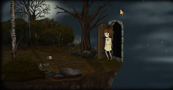 Локация из игры Fran Bow