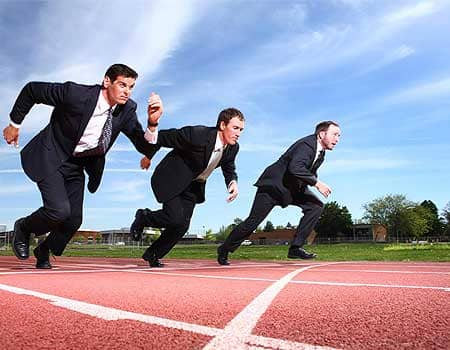 Жизнь это гонка - интересное о конкуренции