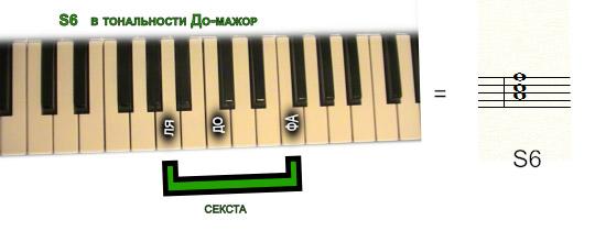 субдоминанта S6
