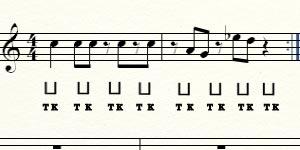 Импровизация - чувство ритма
