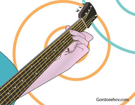 Как брать аккорды на гитаре необычно