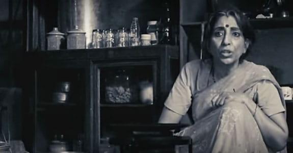 Мама говорит Раджу о негативе