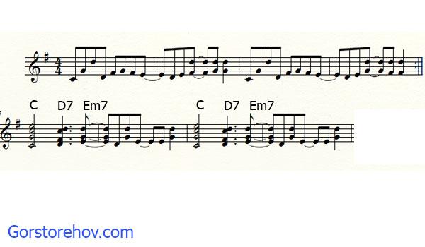 Расширенный с помощью аккордов проигрыш
