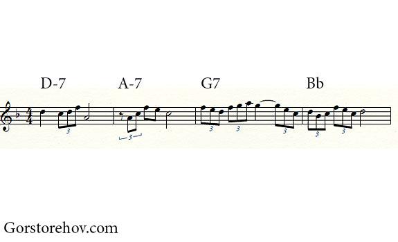 Мелодия с аккордами