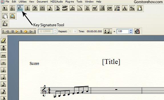 Key Signature Tool