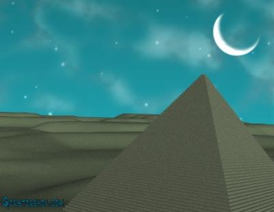 Лечение музыкой - Египетская пирамида