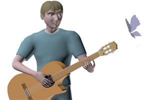 Тема Someday my prince will come или как импровизировать на гитаре - картинка