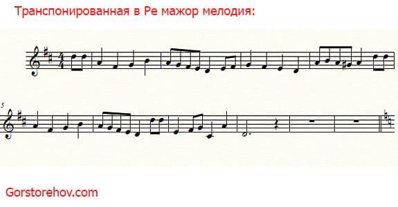 Музыка в Ля мажоре